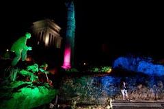 Roma, Foro di Cesare 04 09 2013. Passaggi Segreti: ''Shakespeare loves Rome'' ideazione e regia Roberto Marafante - La Bilancia Produzioni ©Musacchio & Ianniello