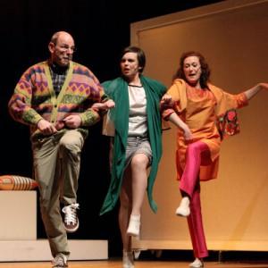 """compagnia di Lizzana Teatro di Lizzana 14 aprile 2012 """" I love Shopping """""""
